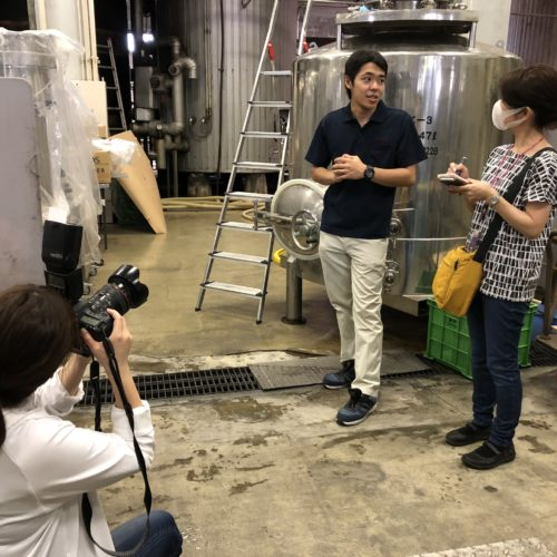『日本ワイン紀行』に取材いただきました